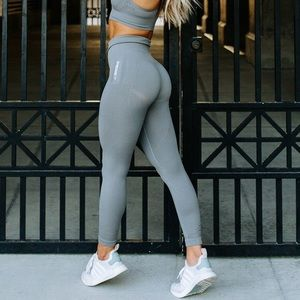 Gymshark grey energy seamless leggings